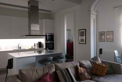 Wonderful apartment in Barcelona in the building with swimming pool and gym